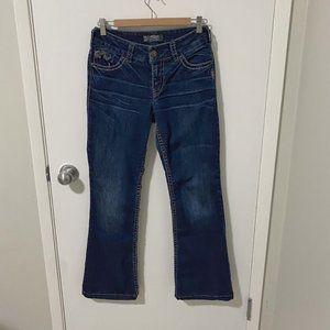 Silver Jeans Suki Mid Rise Boot Cut Denim, Blue-27